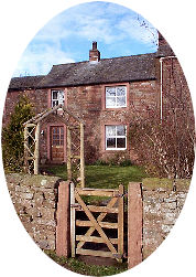 Self-catering holiday cottage accommodation on a working farm in Cumbria. The Lake District, Carlisle, Gretna Green and the Carlisle-Settle railway are all a short drive away.